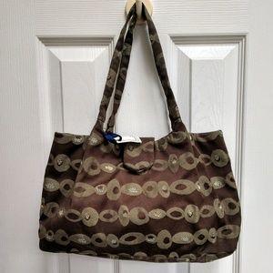 Handbags - Textile Fabric Purse Handmade New